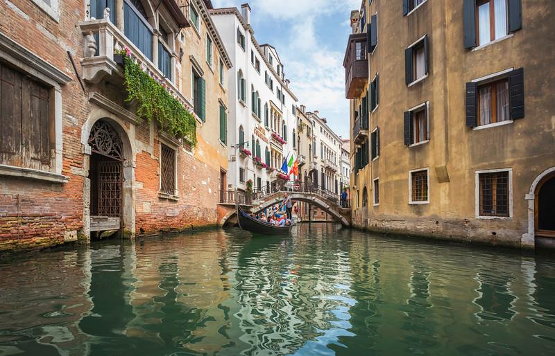Gondola View of Venice