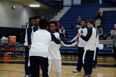 OE Varsity boys basketball Vs Plainfield No. (Senior Night 2015-16)
