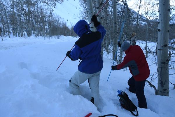 Avalanche Course Level 1 Jan 28-30, 2017