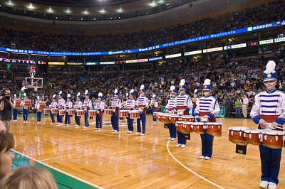Drumline at Celtics