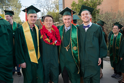 Ashraf addresses CalPoly 2019 Fall Commencement - College of Engineering and College of Architecture