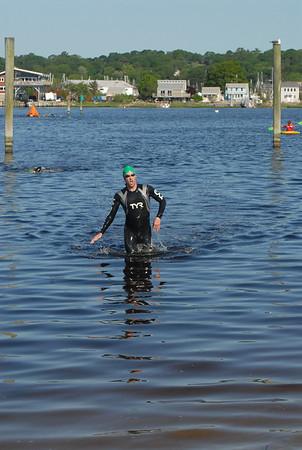 2013 Mystic River Triathlon - SWIM