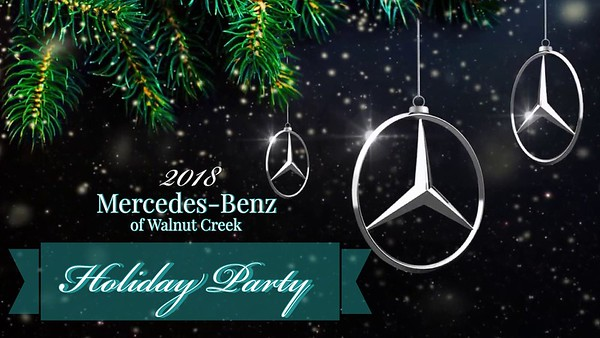 2018 Mercede-Benz Holiday Party