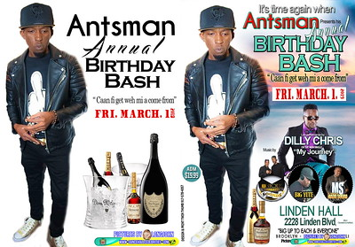 "ANTSMAN ""BIRTHDAY PARTY 2019""(12.5)"