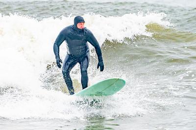Kevin Sime Surfing Long Beach 2-28-21