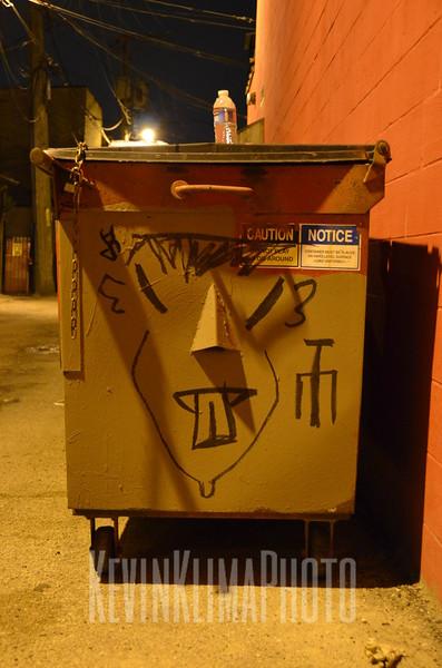 Chinatown Dumpster