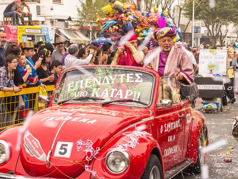 Carnival in Limassol 2014