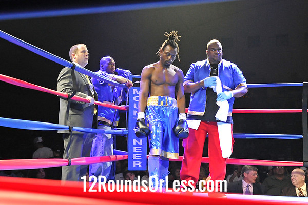 "Bout 4 Wilkins ""The Hispanic Hurricane"" Santiago, Lorain, OH -vs- Mustafah Johnson, Indianapolis, IN, Super-Welterweight"