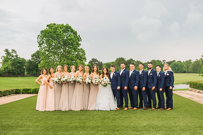 Wedding Party and Family Portraits