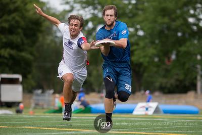 8-7-16 Dallas Roughnecks v Seattle Cascades - AUDL Championship Final