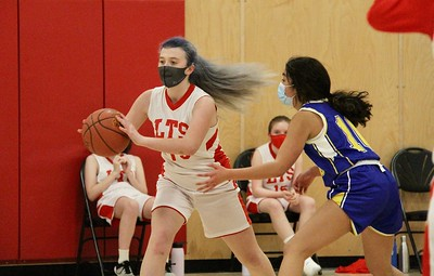 LTS M.S. Girls Basketball vs PHS II photos by Gary Baker
