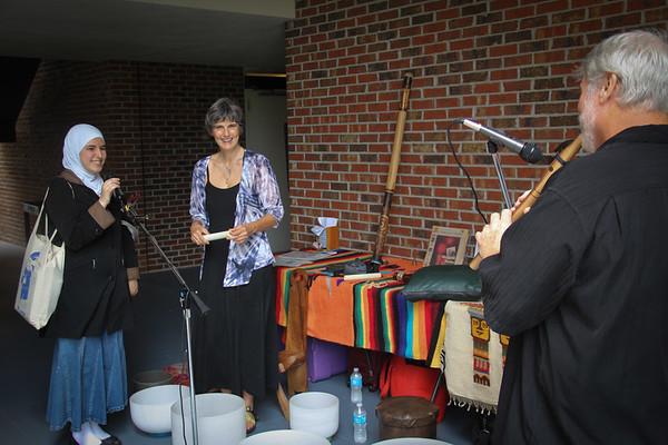 Peace Week PHSC, Crystal Bowls & Flutes 10, 2-4 ,12