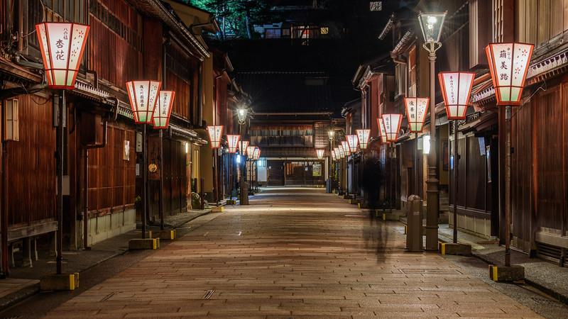 Higashi Chayagai alley || Kanazawa