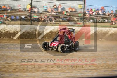 USAC National Midgets, Eldora Speedway, 9/24/2016