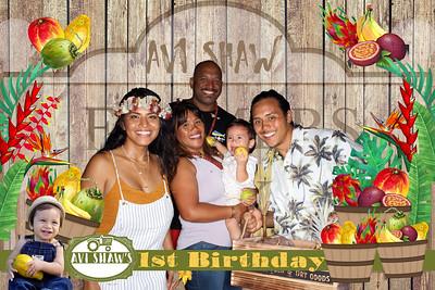 Avi's 1st Birthday