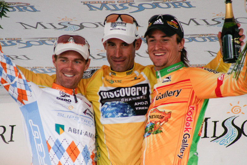 Dominique Rollin, George Hincapie, Will Frischkorn