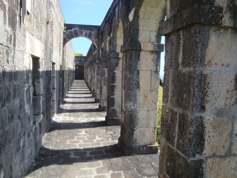 Brimstone Hill stone corridor.JPG