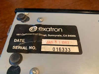 Exatron Stringy Floppy for TRS-80 sn 016333