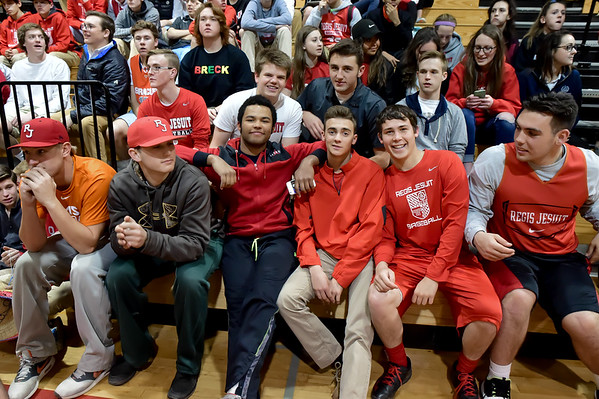 """2016 CHSAA Basketball Playoff's """"Faces In the Crowd"""""""