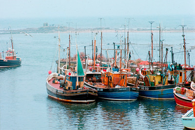 Fishing Boats in Northern England