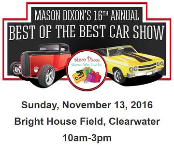 2016-11-13.....Mason Dixon Christmas Wish Fund  Car Show