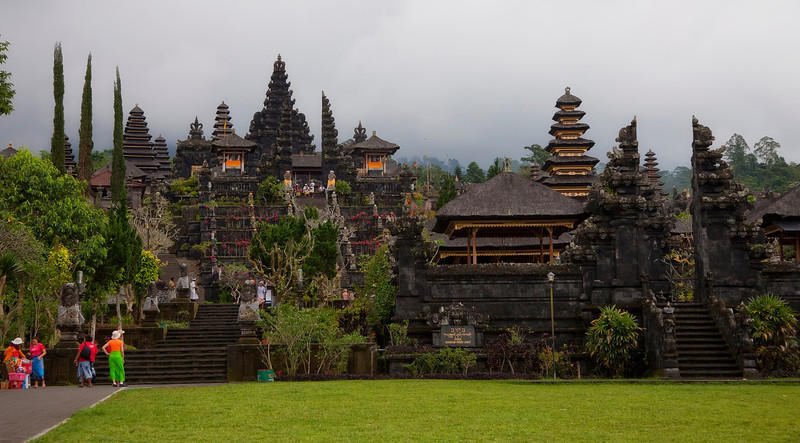Besakih Temple near Mt Agung