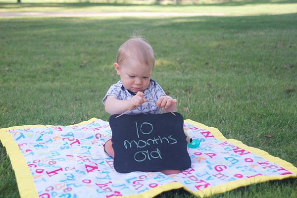 Braden Aaron - 10 Months Old