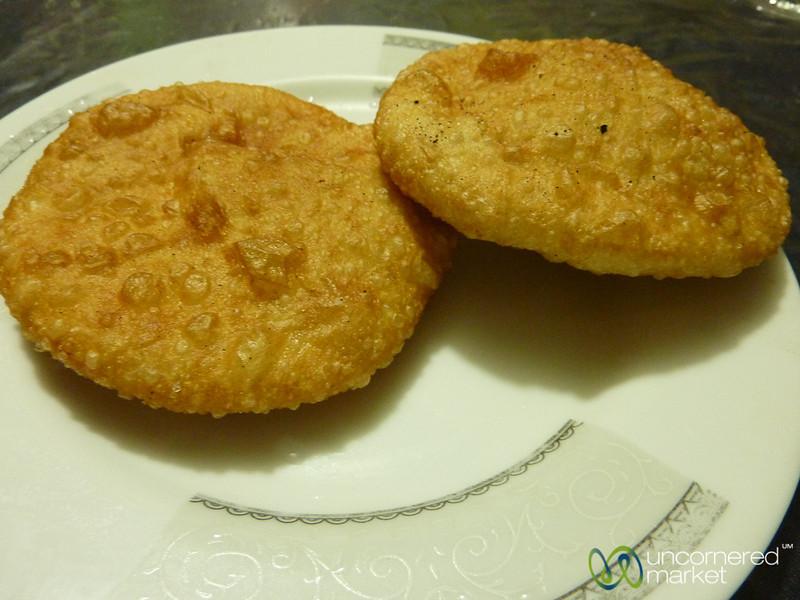 Fried Bread Filled with Lentil Mixture - Bandarban, Bangladesh