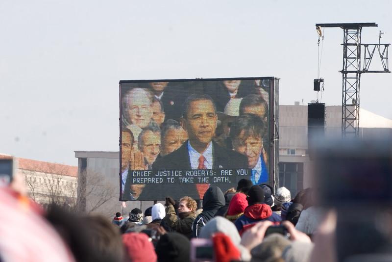 Punahou Alum Barack Obama Inaugurated as 44th President on January 20, 2009