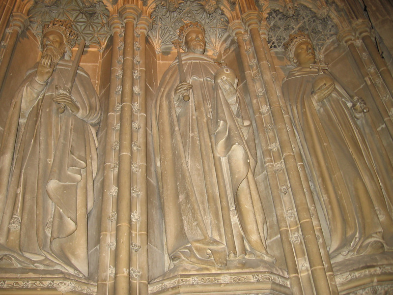 Kings of England, Choir Secreen, Canterbury Cathedral