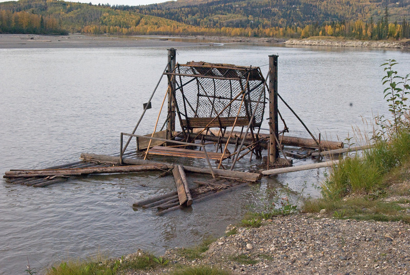 Current powered fish catcher - Riverboat Discovery Tour