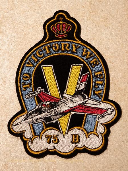 Prom 75B badge