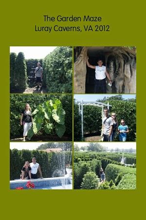 VA, Luray Caverns - The Garden Maze