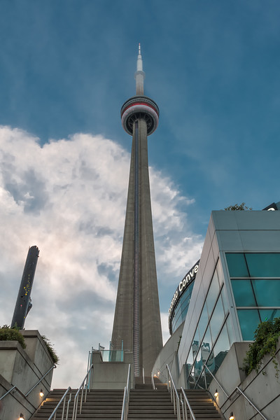 CN Tower, Daylight