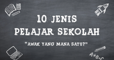 10 Jenis Pelajar Sekolah | Astro Ceria