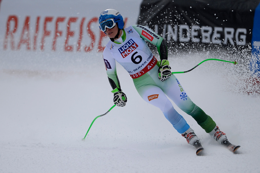 . BEAVER CREEK, CO - FEBRUARY 03: Ilka Stuhec of Slovenia compete during the the ladies\' super-G finals. FIS Alpine World Ski Championships 2015 on Tuesday, February 3, 2015. (Photo by AAron Ontiveroz/The Denver Post)