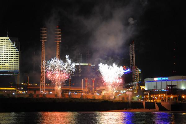 Reds Fireworks June 2009