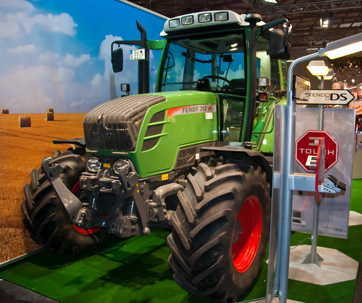 Tractor at GamesCom