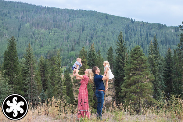 Vail Family Photos - Betty Ford Alpine Gardens - Tizzone