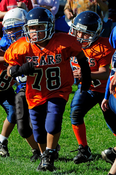 Mighty Mites Week 6 - Colts v. Bears