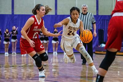 Basketball (JV & Varsity Girls) vs Comanche, January 3