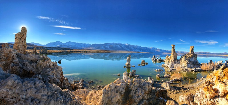 Mono Lake, California in the Eastern Sierras