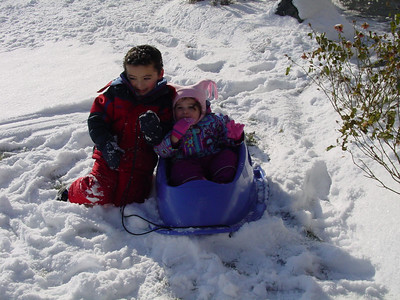 Our first real snow of 2005 - 2006