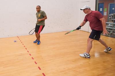 Men's Singles A  Roddy Hogg VS Tony Smith