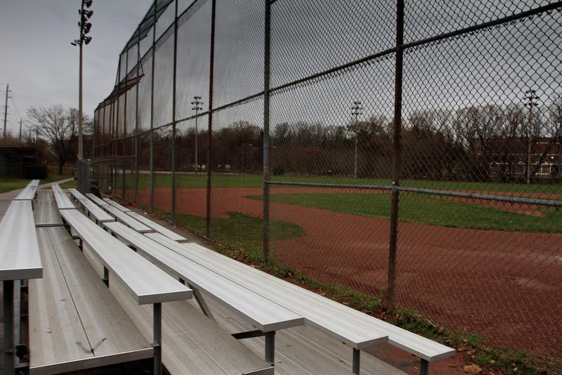 Empty Baseball Park