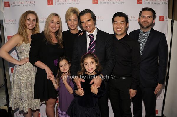 Suelyn Farel, Julien Farel, guests, children photo by Rob Rich/SocietyAllure.com © 2014 robwayne1@aol.com 516-676-3939