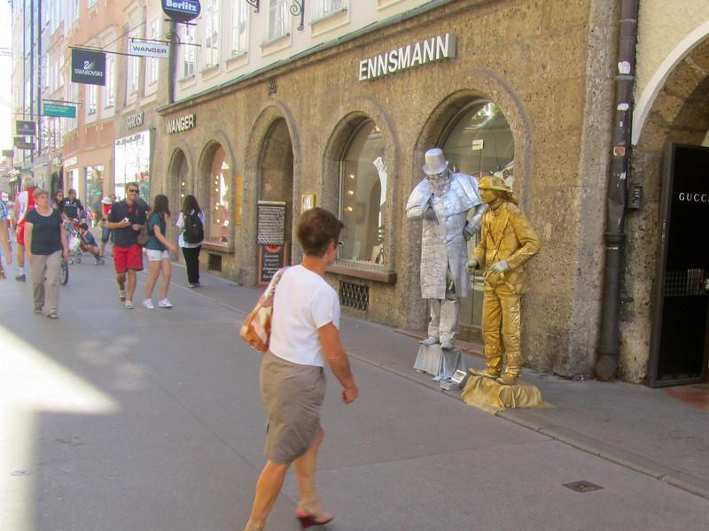 street performers Salzburg