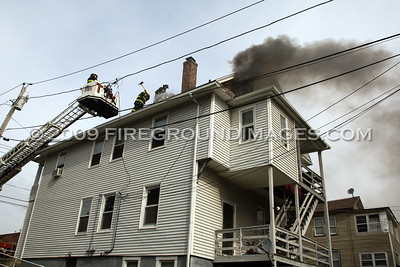 Clifton St. Fire (Ansonia, CT) 9/22/09