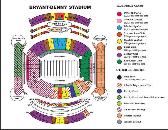 BDS Seating Chart
