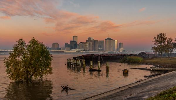 Mississippi River New Orleans   Dec 2018